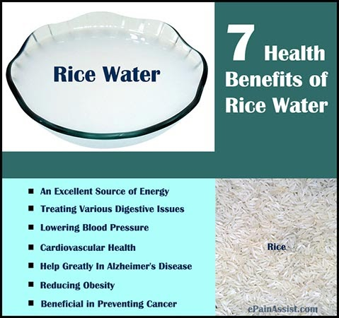 Amazing Benefits Of Rice Water For Beauty