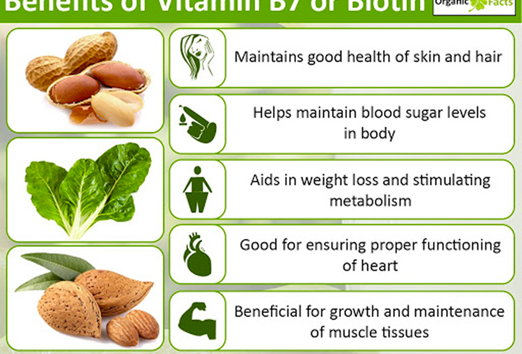 Biotin Rich Foods For Hair And Nails - Chart