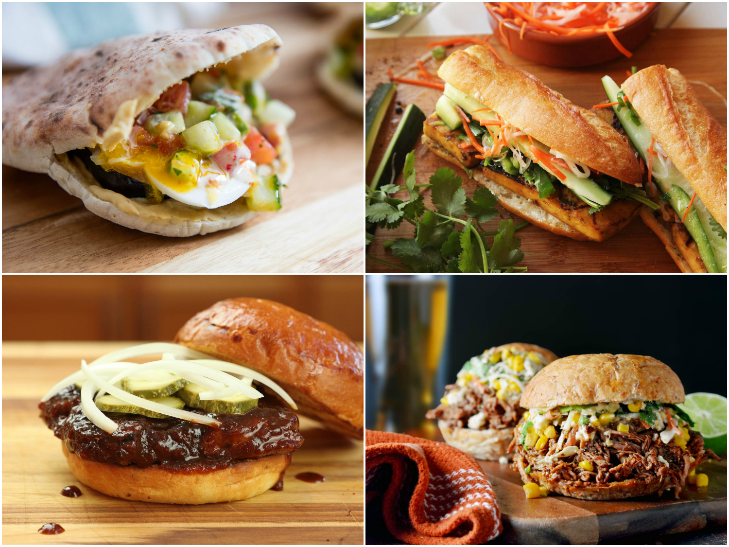 Delicious, Easy And Tasty Sandwich Recipes