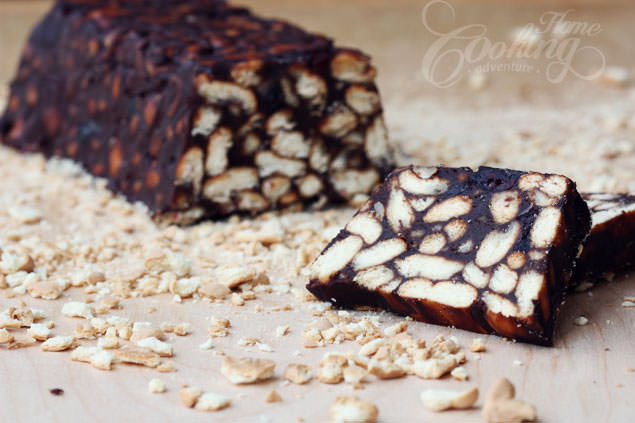 No Baked Chocolate Biscuit Cake Recipe - Picture