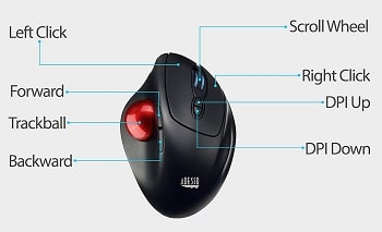 Difference Between Mouse And Trackball - What is a trackball