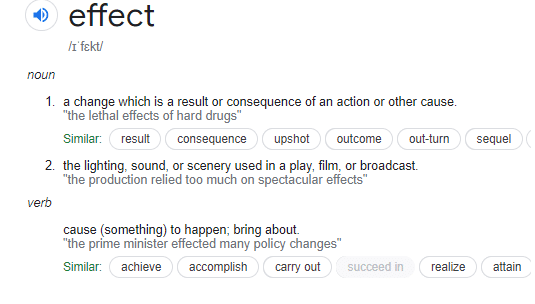 Difference Between Affect And Effect-what is effect